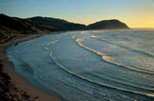 Makorori beach at dawn